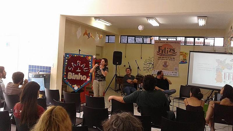 Atividade da primeira edição da Feira Literária da Zona Sul (FELIZS), realizada em 2015
