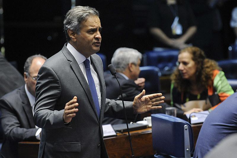 Senado derrubou nesta semana a decisão do STF de afastar Aécio Neves (PSDB)