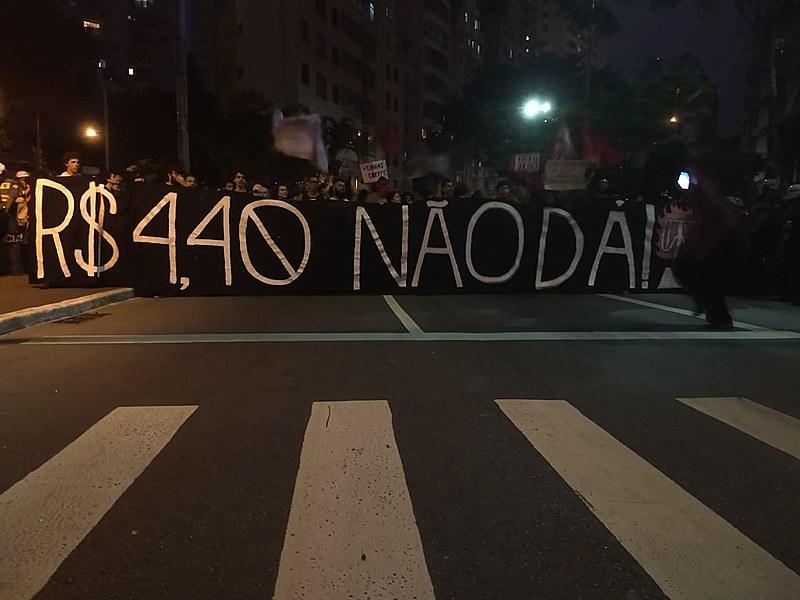 Ato iniciado na Prefeitura de São Paulo se dirigiu até a Avenida Paulista