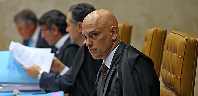 Acusado de censura, Alexandre de Moraesrevogou uma decisão dele próprio, publicada no início da semana