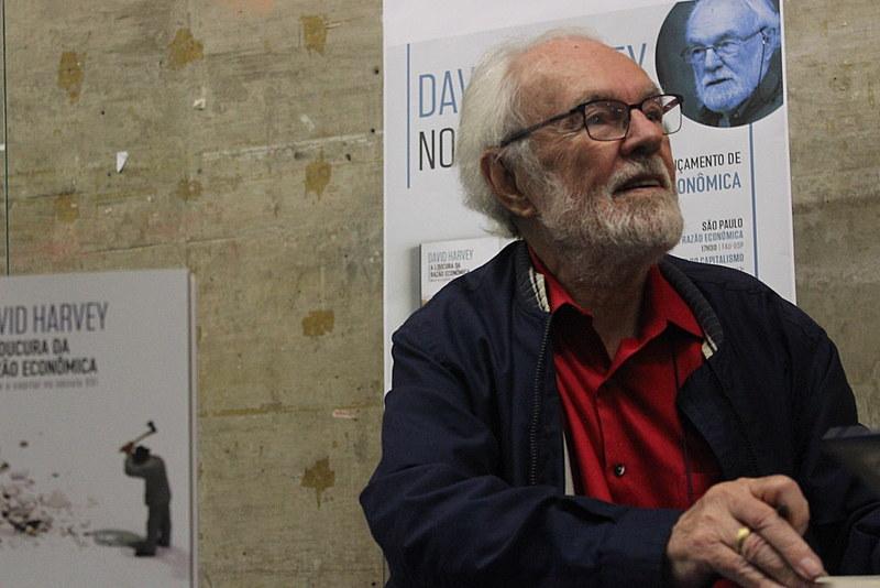 Um dos pensadores marxistas mais importantes da atualidade, Harvey lança seu novo livro no Brasil