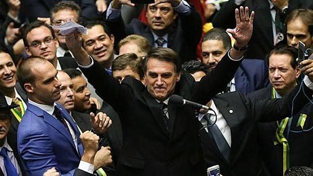 Jair Bolsonaro (PSL) foi eleito presidente da República em outubro de 2018