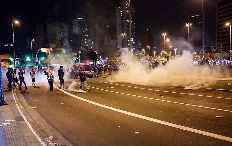 Atos realizados na cidade de São Paulo foram duramente reprimidos pela Polícia Militar na semana passada