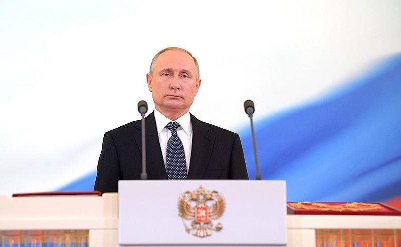 Putin tomou posse para 4º mandato na Rússia