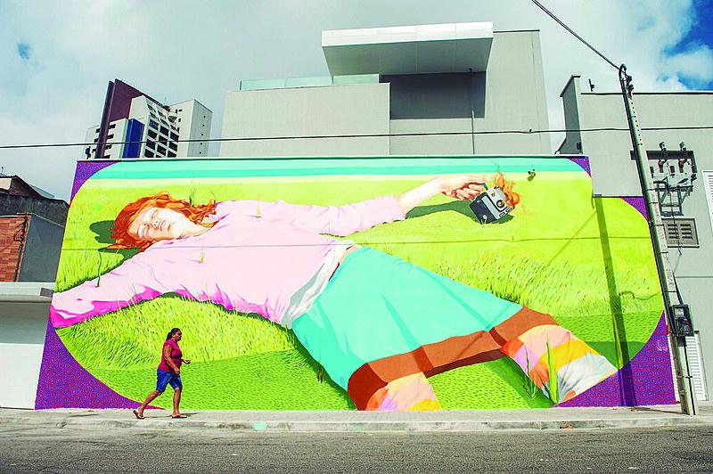 Além do grafite, o festival também traz apresentações de dança, shows e exposições