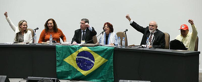 Encontro nacional da Frente Brasil de Juristas pela Democracia, no museu da República, ocorrido em 05/07/2016.