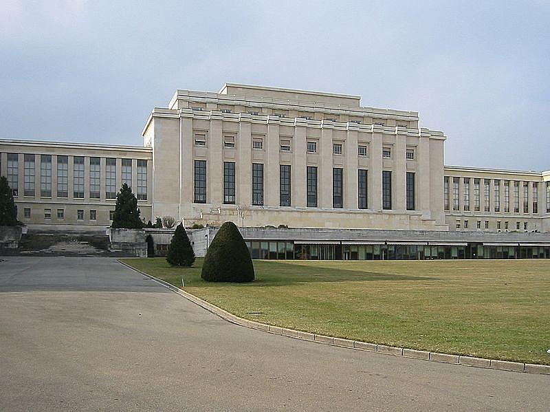 Sessão paralela ocorreu no Palácio das Nações, edifício pertencente à Organização das Nações Unidas