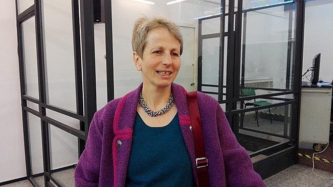 A arquivista italiana Giulia Barrera, primeira testemunha do caso que julga ex-agentes da ditadura brasileira na Itália
