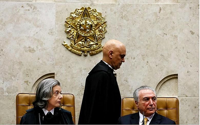 Sessão solene de posse de Alexandre de Moraes no cargo de Ministro do Supremo Tribunal Federal
