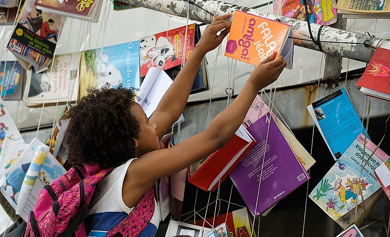 Festa Literária das Periferias (Flupp) acontece até domingo (13) na Cidade de Deus, zona oeste do Rio