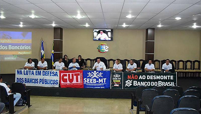 Audiência Pública realizada na Assembleia Legislativa do Estado de Mato Grosso