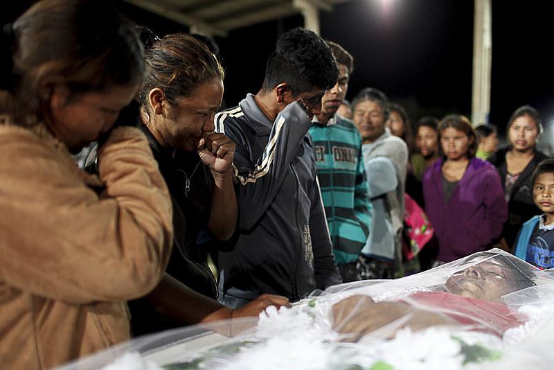 Clodiodi Aquileu, morto em 14 de junho, foi mais uma vítima do genocídio no Mato Grosso do Sul