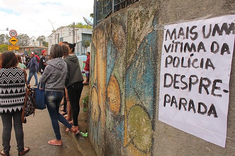 O policial que efetuou o disparo está afastado do trabalho, enquanto Matheus morreu na madrugada de segunda-feira (03/10), no Hospital do Grajaú.