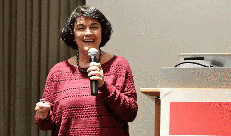 Professora e economista  Leda Paulani