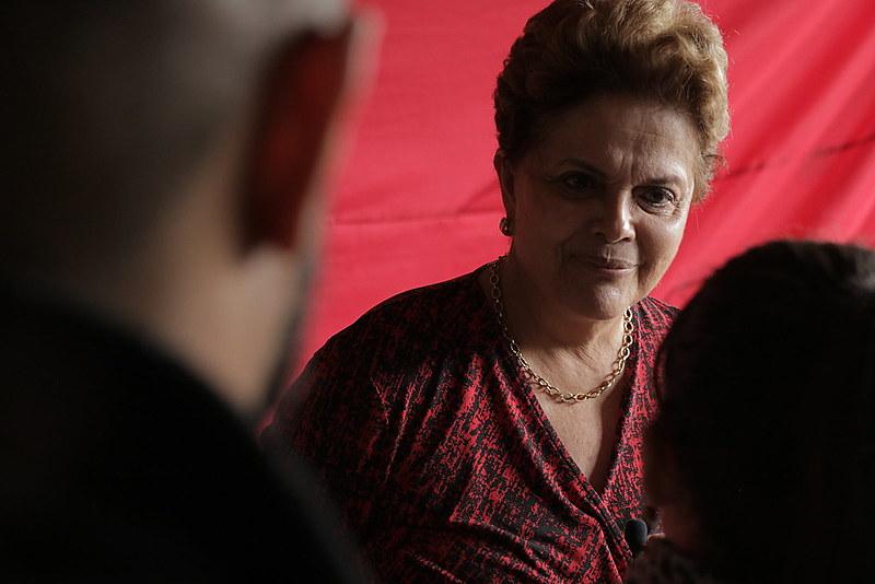 Dilma Rousseff concedeu entrevista ao Brasil de Fato no último final de semana