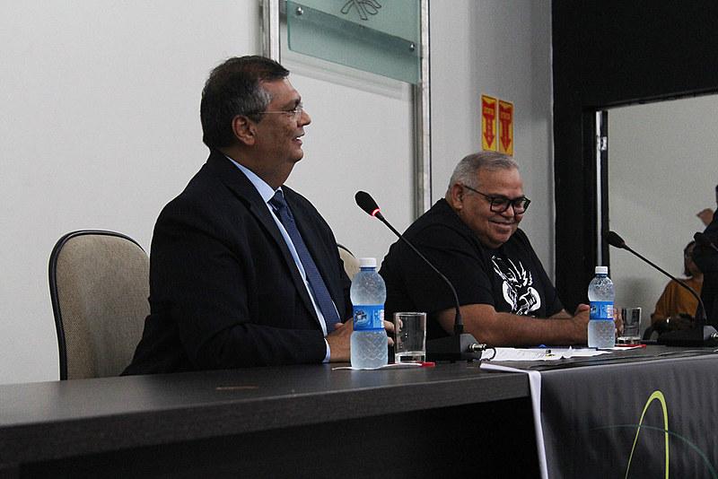 Governador do Maranhão participou do evento Trilhas da Democracia, na UFRN