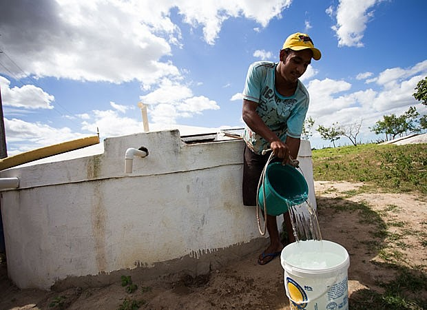 Famílias que necessitam de cisternas estão localizadas em zonas rurais, distantes dos municípios