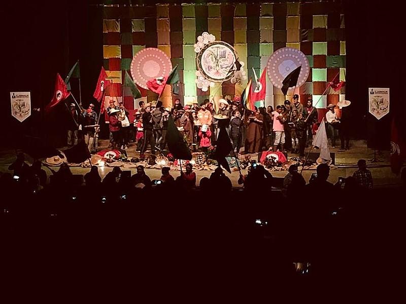 Conferência aconteceu no Teatro Guaíra, onde, há 33 anos, foi realizado o congresso que fundounacionalmente o MST