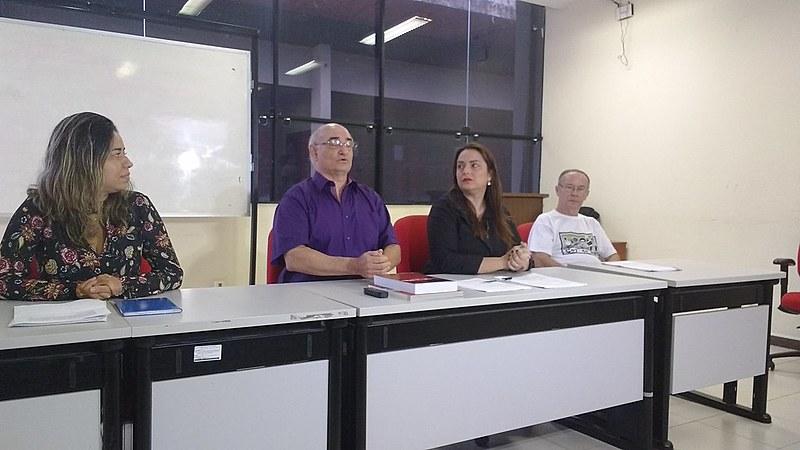 A petição foi envida a duas semanas e o auncio foi feito durante coletiva de imprensa no auditórioHailton Correa na UFPA