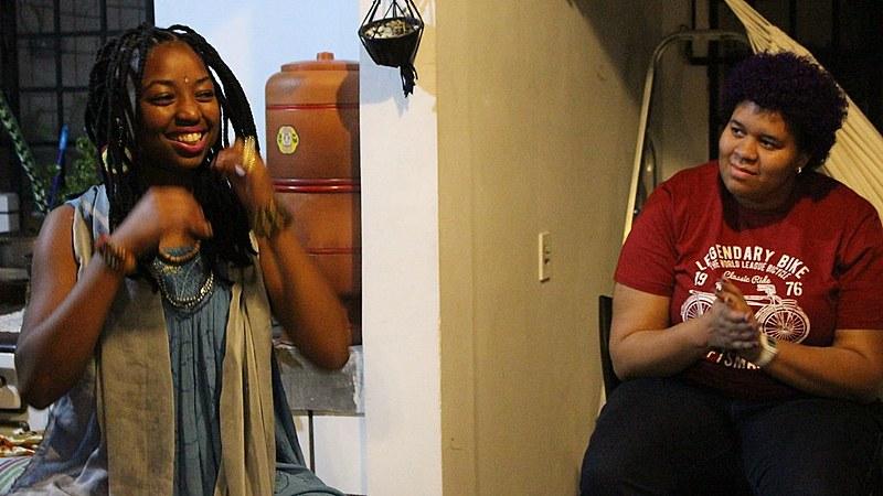 Além dos atendimentos pessoais, Brinsan promove o AfroCura, espaço de autocuidado coletivo entre o povo preto.