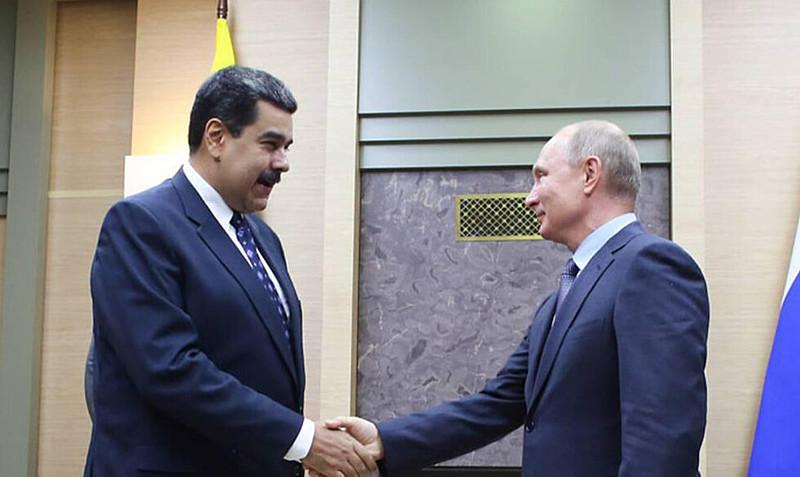 Maduro e Putin se encontraram em Moscou e firmaram acordos entre Venezuela e Rússia