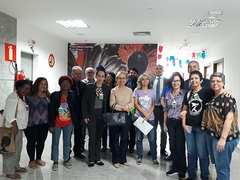 Após agressões feitas pelo apresentador Sikera Jr. contra as mulheres, movimentos feministas da Paraíba se mobilizaram e exigiram reparação.