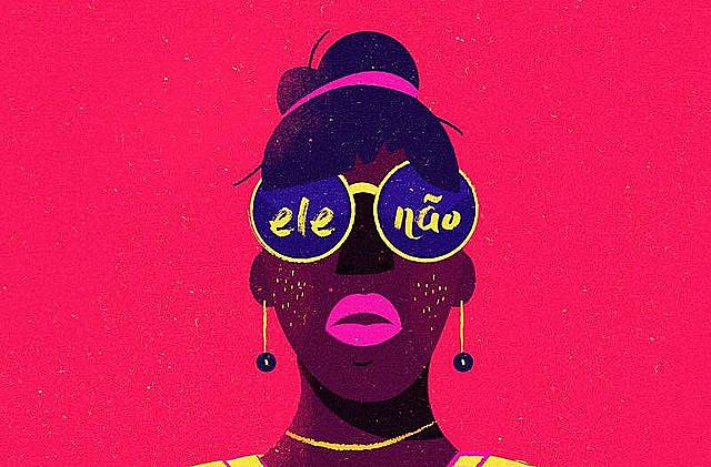 Después del inicio de la movilización de las mujeres en Brasil, el rechazo al candidato ultraderechista alcanzó el 44%