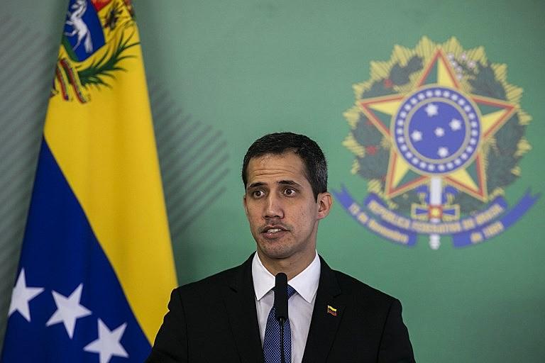Guaidó foi evasivo sobre um possível pedido para a intervenção militar estrangeira