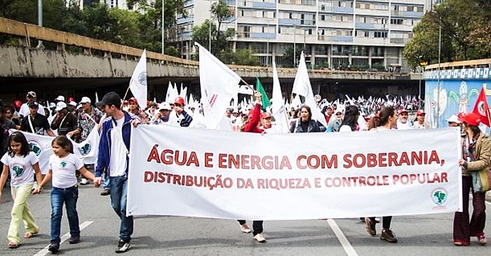 Movimento dos Atingidos por Barragem participa de ato em São Paulo pela soberania nacional