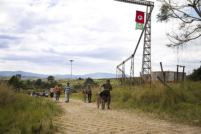 A ocupação da área começou em 1998 e passou por muitas complicações