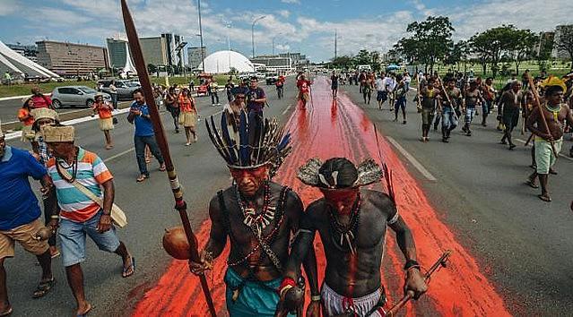 El 2 de enero, cerca de 180 familias Guaraní y Kaiowá sufrieron ofensiva de guardias privados en Dourados (Mato Grosso do Sul)