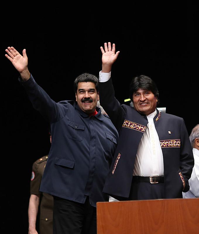 Maduro e Evo trataram especialmente do processo contra Dilma