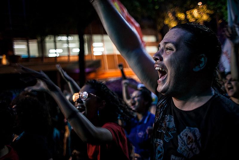 Protesto popular contra a reforma da Previdência no Rio de Janeiro (RJ)