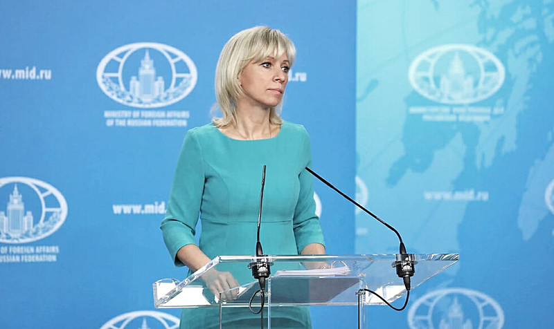 Zarakhova: 'Washington está realizando preparos para uma provocação, fazendo-o conforme todas as regras da arte militar'