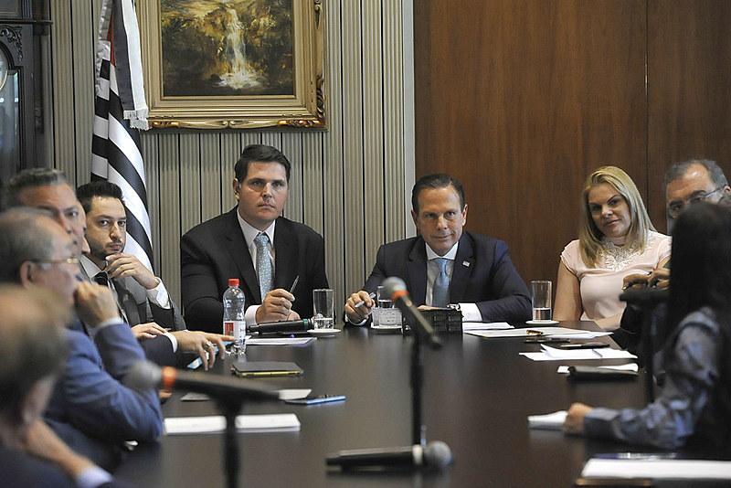 """O presidente da Casa, Cauê Macris (à esquerda), afirma que recebeu a notícia com """"perplexidade"""""""
