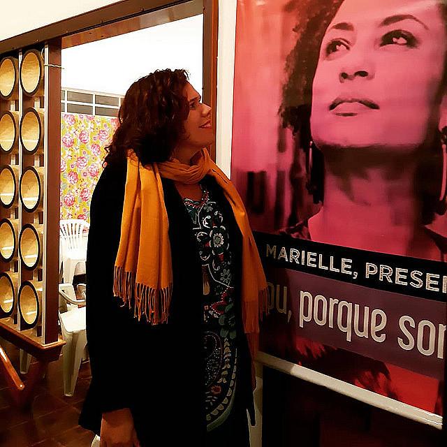 """Fernanda Camargo forma parte de la campaña """"Por la vida de las mujeres, no seremos silenciadas"""""""