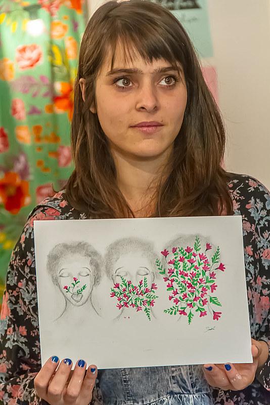 Andréa Tolaini já expôs seu trabalho em São Paulo, Portugal e Espanha.