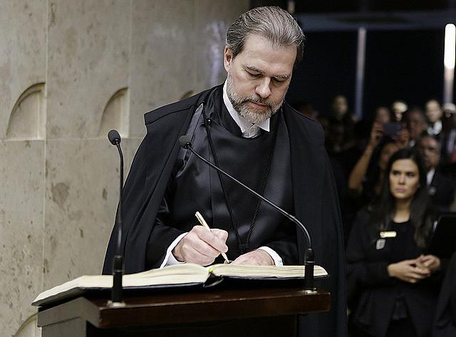 O ministro José Antonio Dias Toffoli assumiu dia 13 de setembro a presidência do Supremo Tribunal Federal (STF)