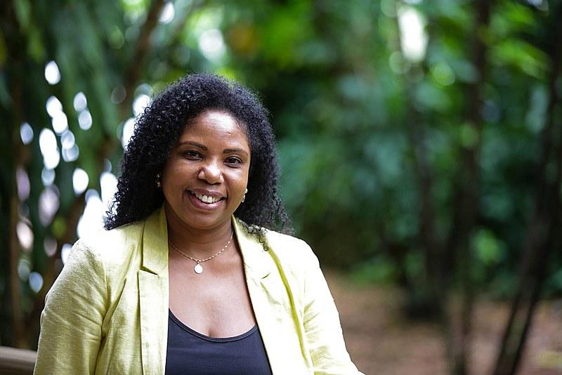 Cida Abreu, ativista do movimento negro e ex-presidente da Fundação Palmares