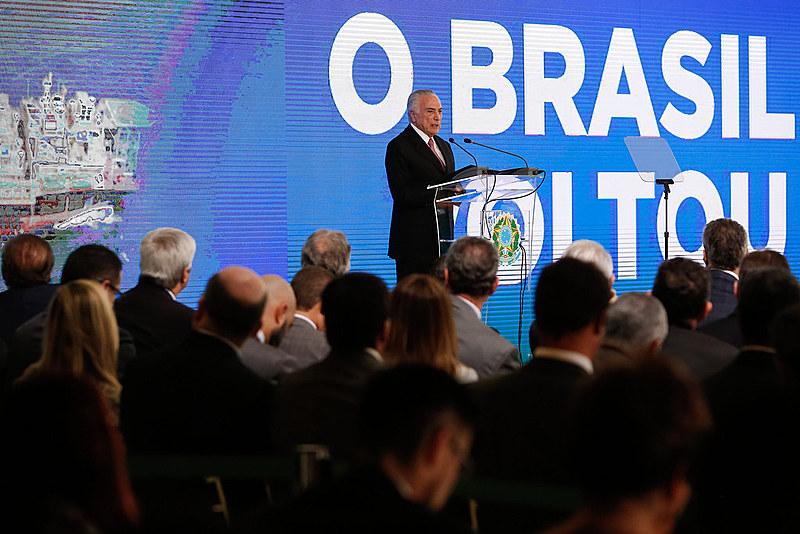 O presidente Michel Temer comemorar os dois anos de seu governo totalmente ilegítimo é uma piada de mal gosto
