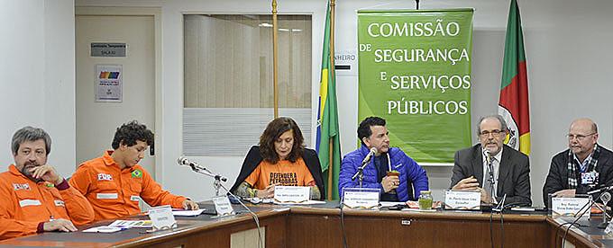 Debate realizado pela Comissão de Segurança e Serviços Públicos aconteceu nesta segunda (08)
