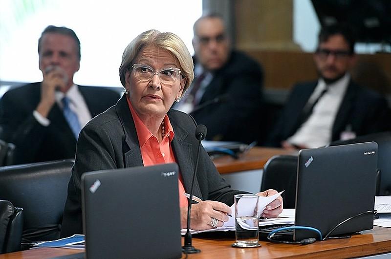 Senadora Ana Amélia (PP-RS), integrante da bancada ruralista e autora do PLS 181/2018