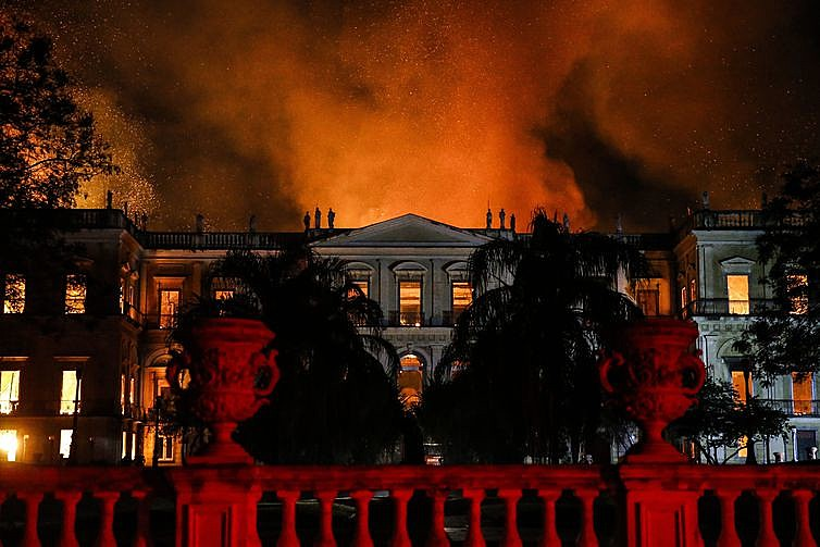 Foram quase 20 milhões de itens do acervo da instituição perdidos no fogo em 2018.