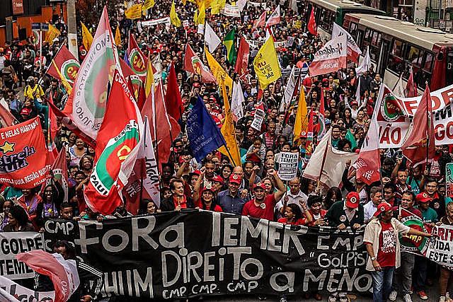 La jornada de lucha se realiza historicamente el mismo día que se conmemoria la independencia de Brasil (7/9)