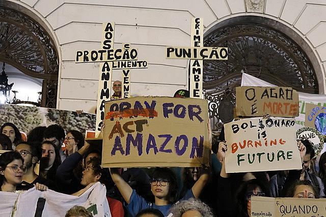 Incêndios destruíram 24.944km² da floresta amazônica em agosto