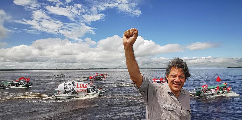 No encontro das águas dos rios Negro e Solimões, Haddad leva a mensagem de Lula e ouve as necessidades do povo manauara