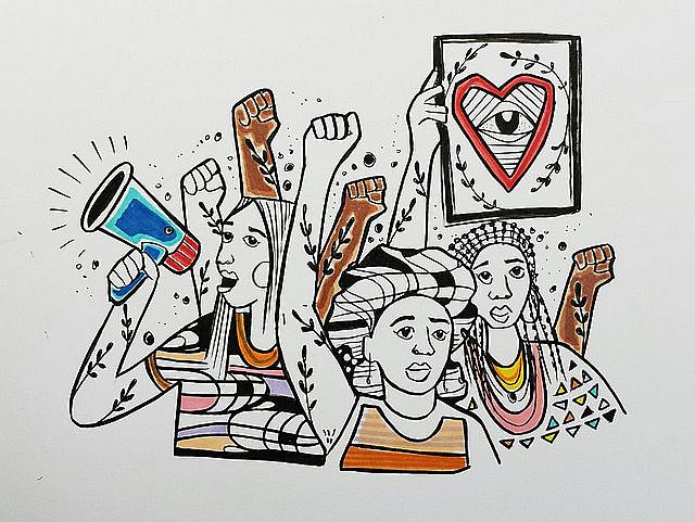 El movimiento ganó adhesión mundial, y mujeres de diversos países estánrealizando asambleas