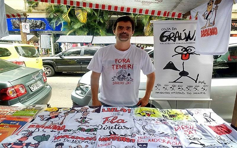 Texto escrito pelo filho do cartunista Henfil critica o uso de agrotóxico no Brasil