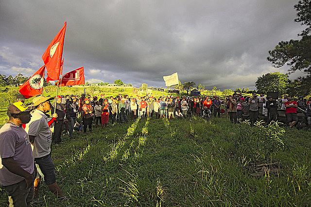 Em Valinhos, MST realiza ato em apoio à ocupação Marielle Vive!