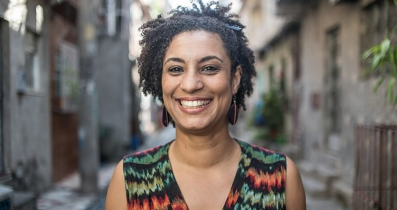 Marielle Franco was a defender of the human rights of black people and denounced the mass murderer of black youths in favelas (slums)